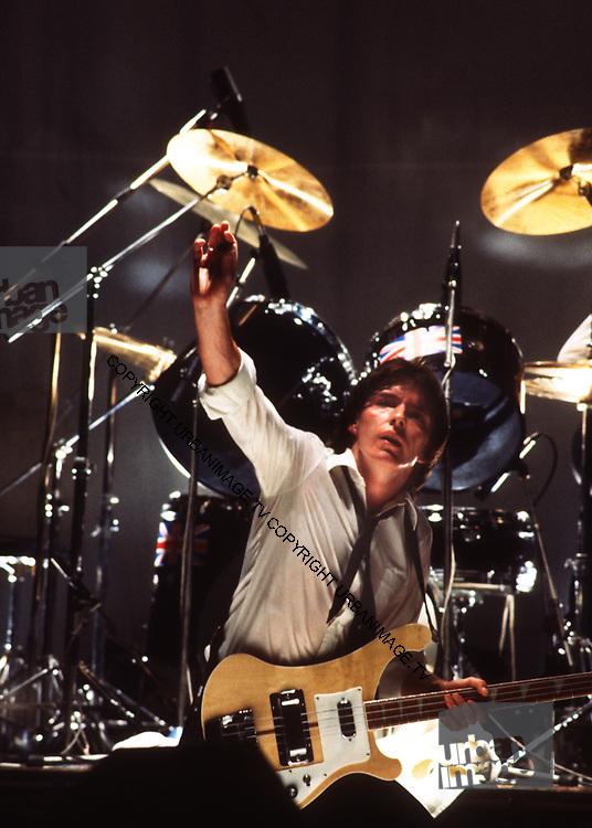 Bruce Foxton - The Jam 1978 London concert