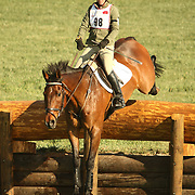 Leigh Mesher and My Beau at the 2007 Fork Horse Trials & CIC3*-W in Norwood, North Carolina