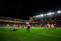 A general view of Ashton Gate as Bristol Bears play Bath Rugby  - Mandatory by-line: Dougie Allward/JMP - 18/10/2019 - RUGBY - Ashton Gate - Bristol, England - Bristol Bears v Bath Rugby - Gallagher Premiership Rugby