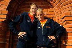 20090928 POL: Europees Kampioenschap Portret zusjes Staelens, Lodz