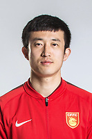 **EXCLUSIVE**Portrait of Chinese soccer player Jiang Zhipeng of Hebei China Fortune F.C. for the 2018 Chinese Football Association Super League, in Marbella, Spain, 26 January 2018.