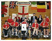 Boccia England International Competition. Wigan 26-6-11. Presentations