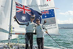 2014 ISAF WSC 470 Men| Medal race