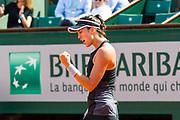 Garbiñe Muguruza (esp) during the Roland Garros French Tennis Open 2018, day 12, on June 7, 2018, at the Roland Garros Stadium in Paris, France - Photo Pierre Charlier / ProSportsImages / DPPI