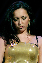Russian Artist Alsou supports Westlife at the Hallam FM Arena Sheffield<br />