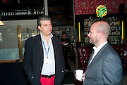 RICHARD ARREGUI; MAGNUS RENFREW,  Brunch to celebrate the launch of Art HK 11. Miss Yip Chinese Cafe. Meridian ave,  Miami Beach. 3 December 2010. -DO NOT ARCHIVE-© Copyright Photograph by Dafydd Jones. 248 Clapham Rd. London SW9 0PZ. Tel 0207 820 0771. www.dafjones.com.