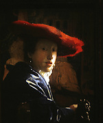 Johannes Vermeer (1632-1675), The Girl With the Red Hat, 1665