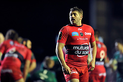 Drew Mitchell of Toulon looks on - Photo mandatory by-line: Patrick Khachfe/JMP - Mobile: 07966 386802 07/12/2014 - SPORT - RUGBY UNION - Leicester - Welford Road - Leicester Tigers v Toulon - European Rugby Champions Cup