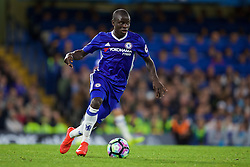 LONDON, ENGLAND - Friday, September 16, 2016: Chelsea's N'Golo Kante in action against Liverpool during the FA Premier League match at Stamford Bridge. (Pic by David Rawcliffe/Propaganda)