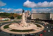 PORTUGAL, LISBON Praca do Marques de Pombal