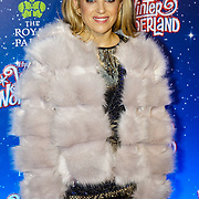 London, England, UK. 16th November 2017. Olivia Cox attend the VIP launch of Hyde Park Winter Wonderland 2017 for a preview. tomorrow is opening for the public