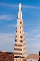 United States, California, San Francisco. Transamerica Pyramid.