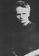 Marie Curie (1867-1934) Polish-born French physicist. Award Nobel prize for physics jointly with her husband, Pierre, and Henri Becquerel for work on radioactivity (1903) and alone for chemistry in 1911 for isolation of pure radium.