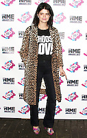 Pixie Geldof, NME Awards 2017, 02 Academy Brixton, London UK, 15 February 2017, Photo by Brett D. Cove