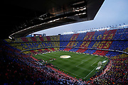 Mosiac of Camp Nou during the Spanish championship La Liga football match between FC Barcelona and Real Madrid on May 6, 2018 at Camp Nou stadium in Barcelona, Spain - Photo Andres Garcia / Spain ProSportsImages / DPPI / ProSportsImages / DPPI