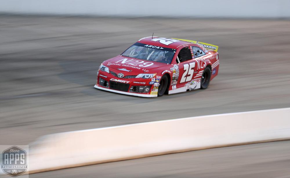 Natalie Decker racedFriday, June 15, 2018 in the Herr's Potato Chips 200 at Madison International Speedway in Oregon, Wisconsin.