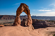 Delicate Arch, Arches National Park, Moab, Utah, USA.