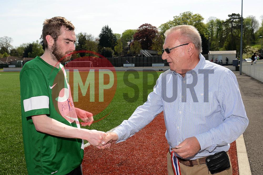 Harry Hughes of SWYD United - Mandatory by-line: Dougie Allward/JMP - 08/05/2016 - FOOTBALL - Keynsham FC - Bristol, England - BAWA Sports v SWYD United - Presidents cup final