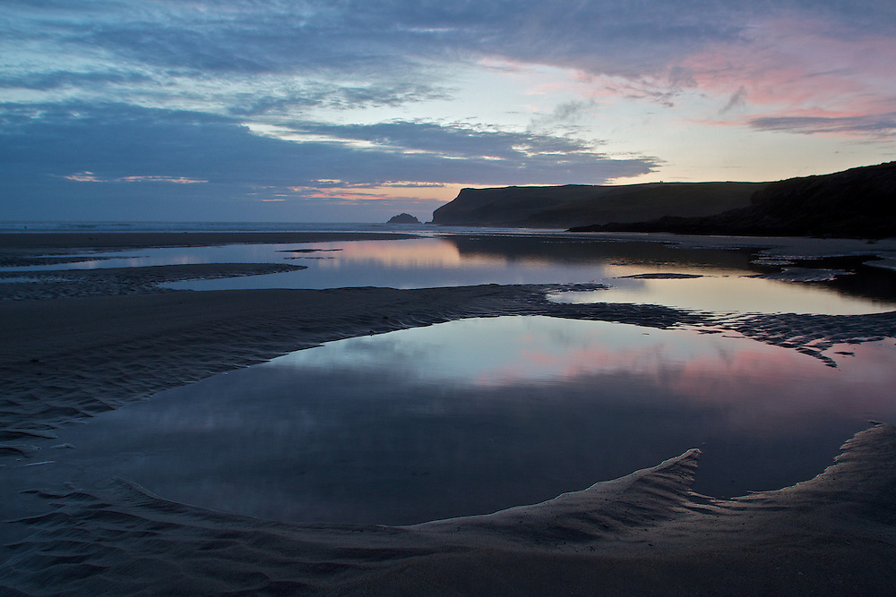 Polzeath Beach, North Cornwall, United Kingdom
