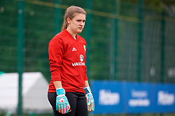 NEWPORT, WALES - Tuesday, June 5, 2018: Wales' goalkeeper Claire Skinner during a training session at Dragon Park ahead of the FIFA Women's World Cup 2019 Qualifying Round Group 1 match against Bosnia and Herzegovina. (Pic by David Rawcliffe/Propaganda)