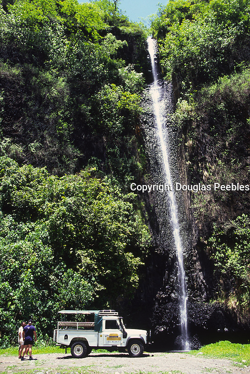 Tahiti Safari Expeditions, Vaihuaruru Waterfall, Tahiti, French Polynesia<br />