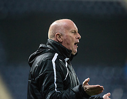 Falkirk's manager Peter Houston. <br /> Falkirk 1 v 0 Cowdenbeath, William Hill Scottish Cup game played 29/11/2014 at The Falkirk Stadium.