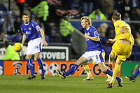Photo: Pete Lorence.<br />Leicester City v Sheffield Wednesday. Coca Cola Championship. 02/12/2006.<br />Chris Brunt slams the ball into the back of the net.