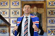 Rangers Press Conference - Ibrox Stadium - 05 May 2018