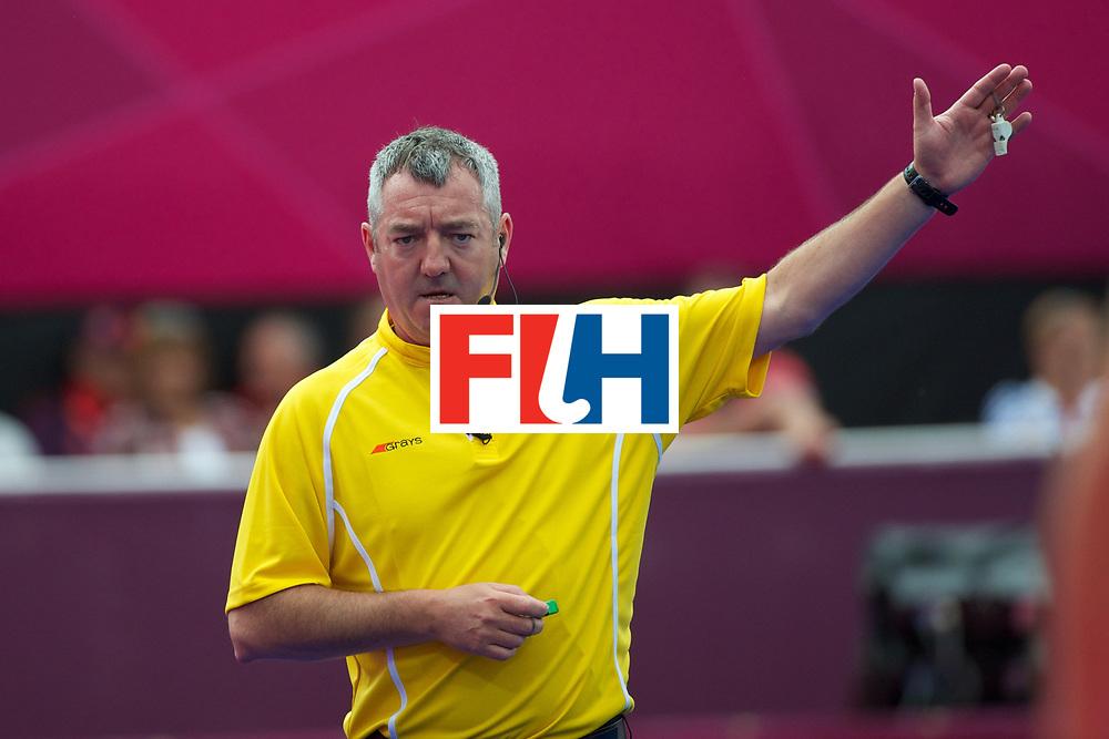 Olympics 2012, hockey, umpire, G, Curran