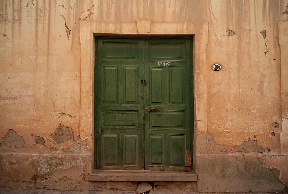 Doorway, Tilcara, Argentina.