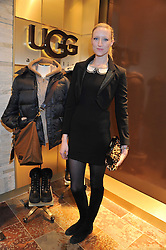 JADE PARFITT at a party to celebrate the opening of the new UGG Australia Flagship store at 5-7 Brompton Road, London on 2nd November 2011.