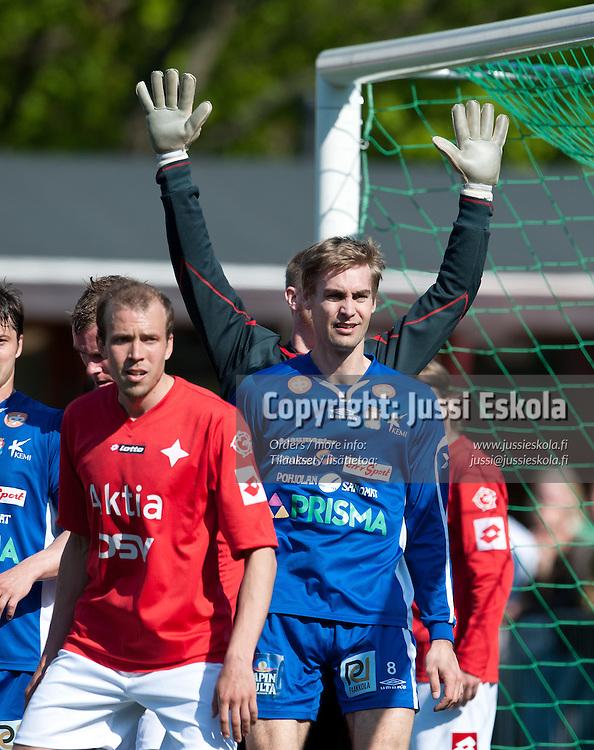 Joonas Ikäläinen. HIFK - PS Kemi Kings. Ykkönen. Helsinki 21.5.2011. Photo: Jussi Eskola