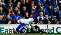 James Bree of Ipswich Town down injured - Mandatory by-line: Phil Chaplin/JMP - FOOTBALL - Portman Road - Ipswich, England - Ipswich Town v Reading - Sky Bet Championship