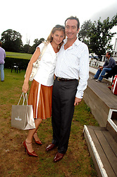 ROBERT HANSON and ELIZABETH VON GUTTMAN at a charity polo match organised by Jaeger Le Coultre at Ham Polo Club, Richmond, Surrey on 29th June 2007.<br />