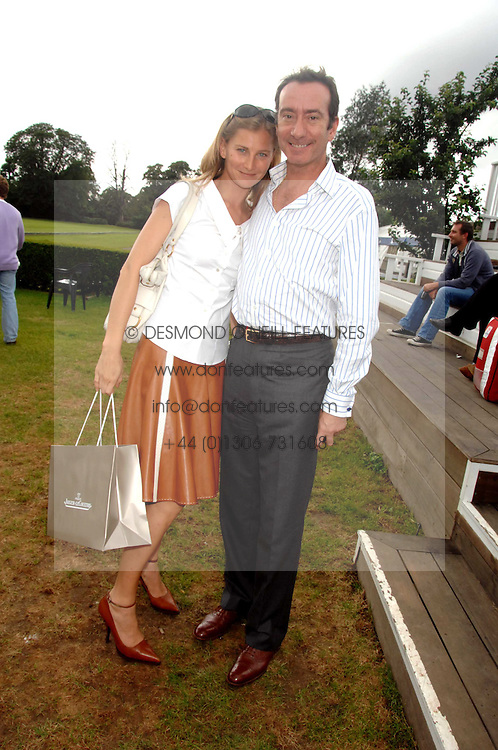 ROBERT HANSON and ELIZABETH VON GUTTMAN at a charity polo match organised by Jaeger Le Coultre at Ham Polo Club, Richmond, Surrey on 29th June 2007.<br /><br />NON EXCLUSIVE - WORLD RIGHTS