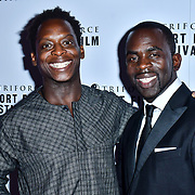 Jimmy Akingbola attend TriForce Short Festival, on 30 November 2019, at BFI Southbank, London, UK.