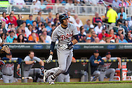Victor Martinez #41 of the Detroit Tigers bats against the Minnesota Twins on June 15, 2013 at Target Field in Minneapolis, Minnesota.  The Twins defeated the Tigers 6 to 3.  Photo: Ben Krause