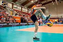 20-05-2018 NED: Netherlands - Slovenia, Doetinchem<br /> First match Golden European League / Just Dronkers #19 of Netherlands