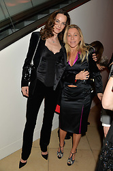 Left to right, CATHERINE BAILEY and MAIA NORMAN at a private view of photographs by David Bailey entitled 'Bailey's Stardust' at the National Portrait Gallery, St.Martin's Place, London on 3rd February 2014.