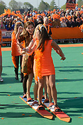 Koningsdag 2014 in de Rijp, het vieren van de verjaardag van de koning. / Kingsday 2014 in the Rijp , celebrating the birthday of the King. <br /> <br /> <br /> Op de foto / On the photo:  Prinses Aimee /  Princess Aimee