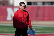 March 06, 2013: Offensive Coordinator Tim Beck at spring practice at Hawks Championship Center.