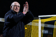 John Still , Manager of Luton Town after the Skrill Conference Premier match at the Abbey Stadium, Cambridge<br /> Picture by David Horn/Focus Images Ltd +44 7545 970036<br /> 11/03/2014