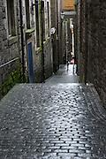 City tour of Edinburg, Scotland