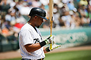June 15, 2017 - Chicago, IL, USA - Chicago White Sox first baseman Jose Abreu (79) during his at bat in the first inning against the Baltimore Orioles at Guaranteed Rate Field Thursday, June 15, 2017 in Chicago. The White Sox won, 5-2. (Credit Image: © Jose M. Osorio/TNS via ZUMA Wire)