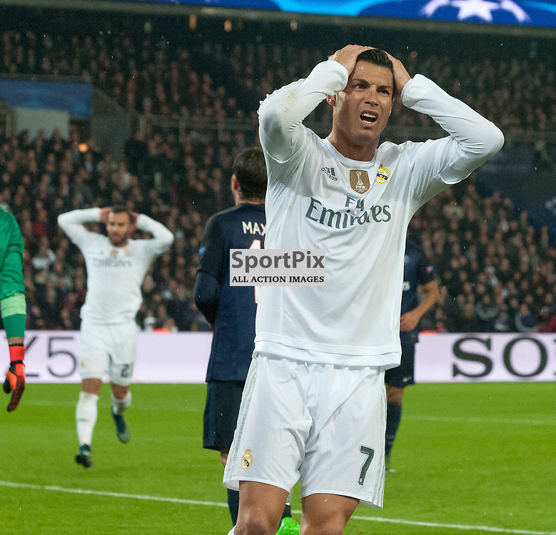 Cristiano Ronaldo (Real Madrid) can't believe he hasn't scored