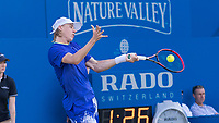 Tennis - 2017 Aegon Championships [Queen's Club Championship] - Day Three, Wednesday<br /> <br /> Men's Singles: Round of 16 _ Tomas Berdych (CZE) Vs Denis Shapovalov (CAN)<br /> <br /> Denis Shapovalov (CAN)at Queens Club<br /> <br /> COLORSPORT/DANIEL BEARHAM