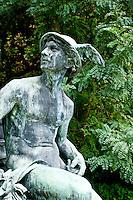 Middleheim Sculpture Park, Antwerp, Belgium - Hermes