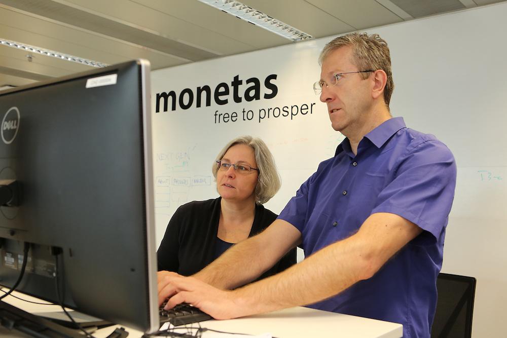 Inside Monetas office, Zug, Switzerland