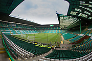14th October 2017, Celtic Park, Glasgow, Scotland; Scottish Premiership football, Celtic versus Dundee; General view of Celtic Park, home of Celtic