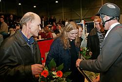 Van der Vleuten Eric - Mr. Holgering, Mevr. Wolters fokkers Audi's Jikke<br /> KWPN Hengstenkeuring 2007<br /> Photo © Hippo Foto